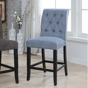 Tomasello Upholstered Dining Chair (Set Of 2) by DarHome Co Great price