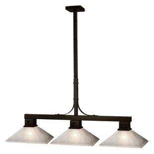 Loon Peak Peiffer 3-Light Pool Table Light