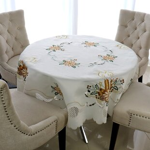 Wayfair Christmas Round Tablecloths You Ll Love In 2021
