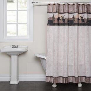 Online Reviews Silhouette Wildlife Shower Curtain BySaturday Knight, LTD