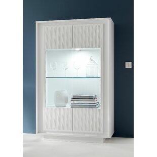 Sky II Vitrine 2 Door Display Cabinet By Metro Lane
