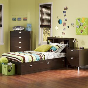 Spark Mates 3 Piece Bedroom Set by South Shore