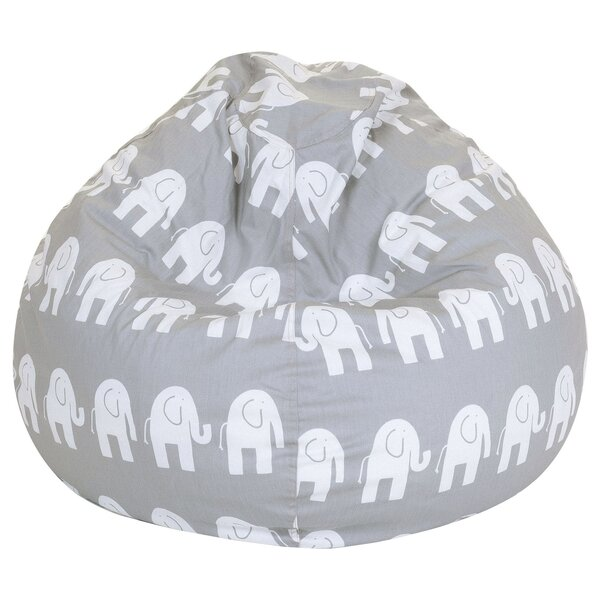 Viv Rae Elephant Print Bean Bag Chair Reviews