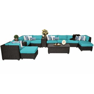 Fairfield 13 Piece Sectional Seating Group with Cushions