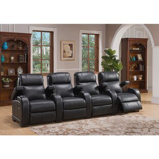 Red Barrel Studio Home Theater 4 Row Recliner
