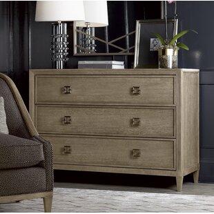 Everly Quinn Albright 3 Drawer Dresser