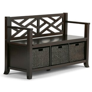 Simpli Home Adrien Storage Bench