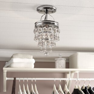Devanna 1-Light Semi Flush Mount by Willa Arlo Interiors