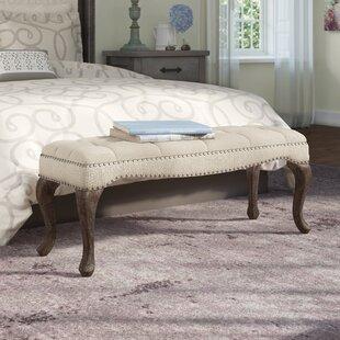 Lark Manor Elya Upholstered Bench