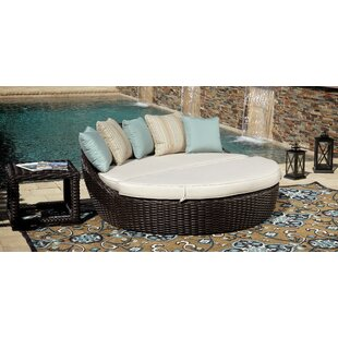 Sunset West Cardiff Daybed Deep Seating Group with Cushion