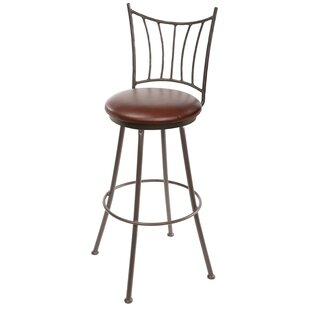 Reviews Traxler 25 Swivel Bar Stool by Millwood Pines Reviews (2019) & Buyer's Guide