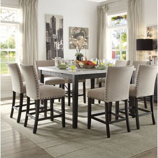 Lefler Amiable Counter Height Dining Table by Alcott Hill
