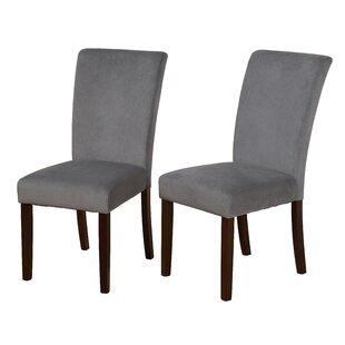Red Barrel Studio Ignacio Parson Upholstered Dining Chair (Set of 2)