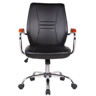 Orren Ellis Reyes Adjustable Mid-Back Executive Chair