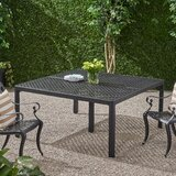 Rosalynn Cast Aluminum Dining Table