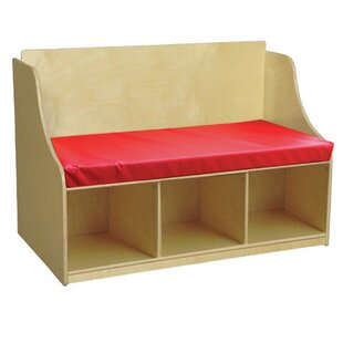 Reading Wood Storage Bench by Wood Designs