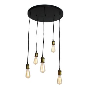 Freudenberger Vintage 5-Light Cluster Pendant by 17 Stories