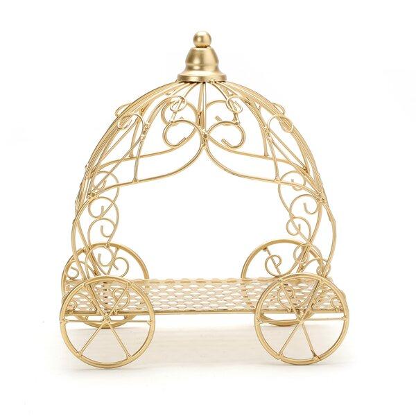 Metal Pumpkin Carriage Wayfair