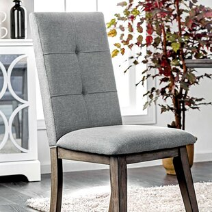 Reynolds Upholstered Dining Chair (Set Of 2) by Gracie Oaks Herry Up