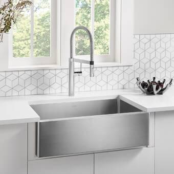 Rohl Italian Undermount Kitchen Sink Wayfair