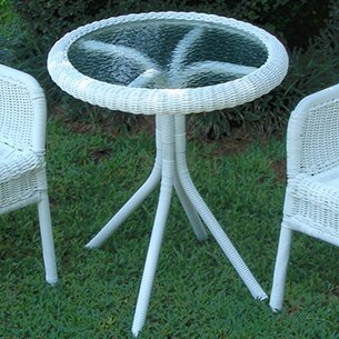 Narron Glass Bistro Table By Lark Manor