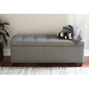 Paisleigh Upholstered Shoe Storage Bench by Winston Porter