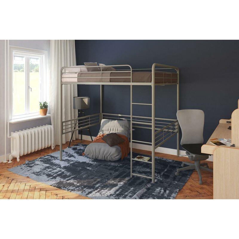 Viv Rae Maximillian Full Size Loft Bed Reviews Wayfair