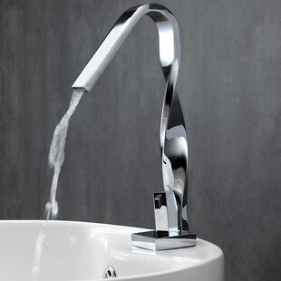 Kube Bath Aqua Riccio Single Lever Bathroom Faucet Image