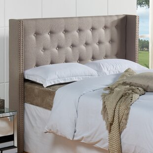 Dowlen Upholstered Wingback Headboard by Willa Arlo Interiors