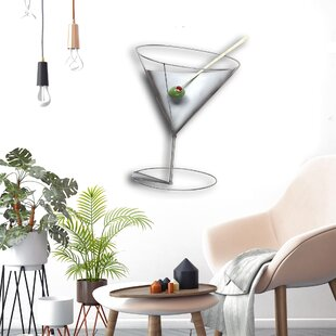 martini wall decor wayfair