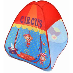 Buy clear Circus Theme Twist Safety Pop-Up Play Tent with Carrying Bag ByAmerican Creative Team