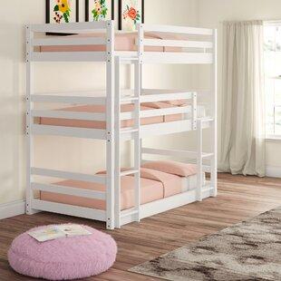 Adorno Twin Over Twin Triple Bed by Mack amp Milo