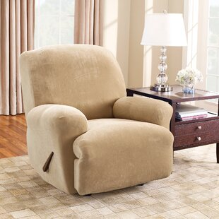 Stretch Plush Recliner Slipcover
