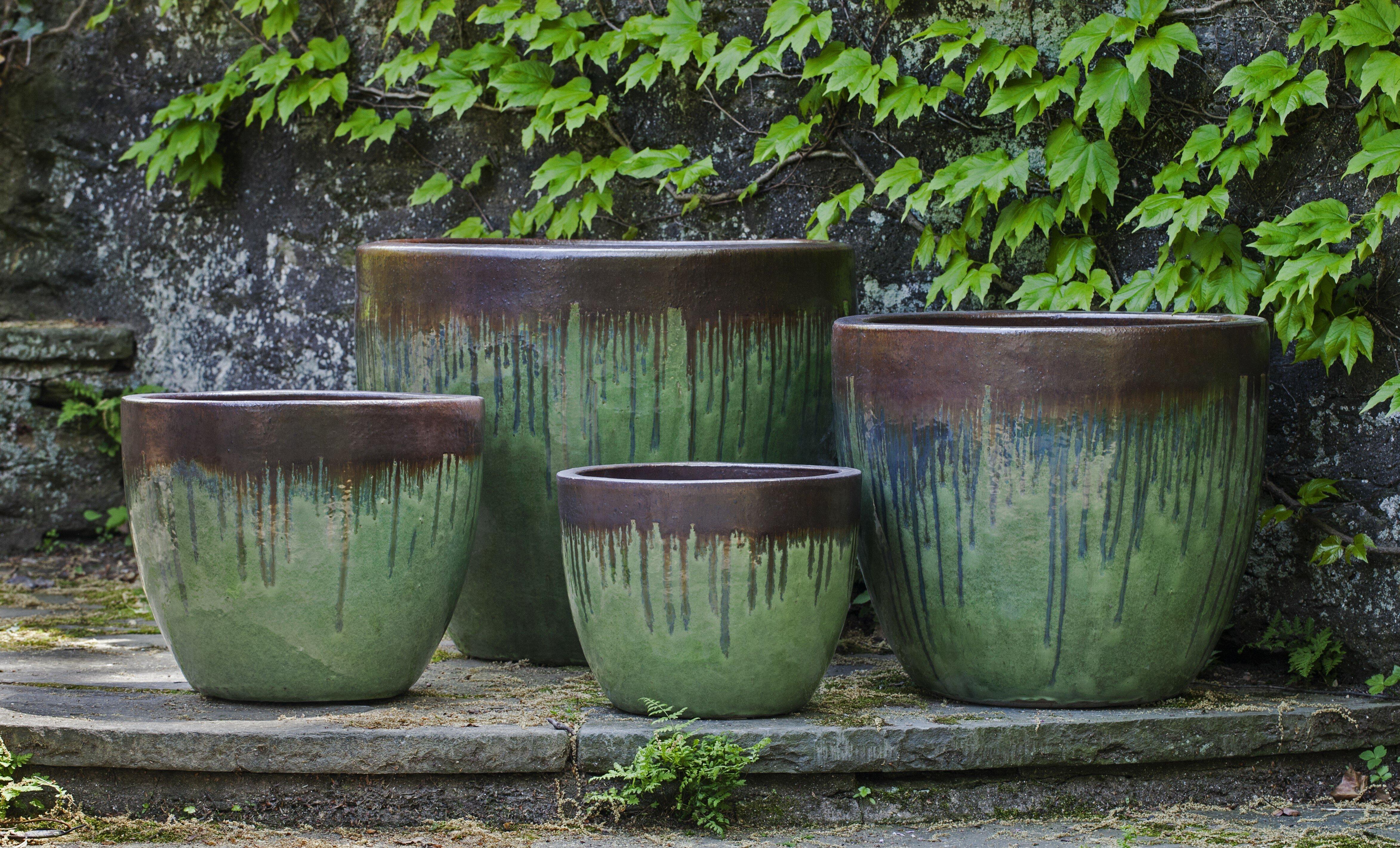 Campania International Inc Marcel 4 Piece Pot Planter Set Wayfair