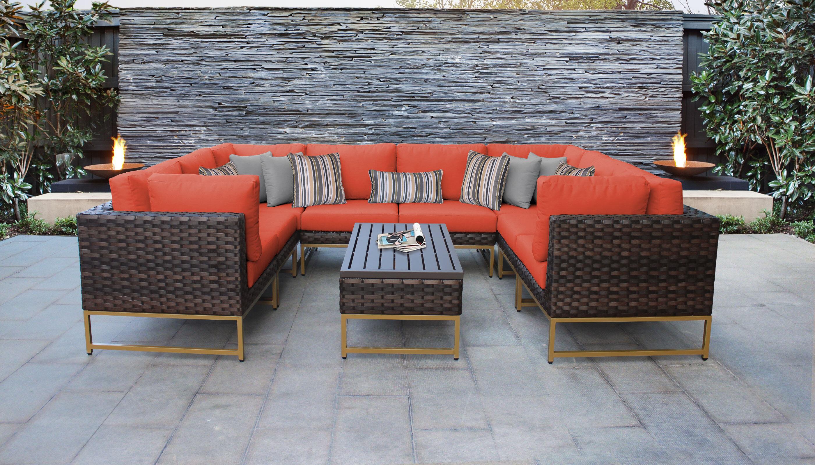 Modern Orange Outdoor Sofa Sets Allmodern