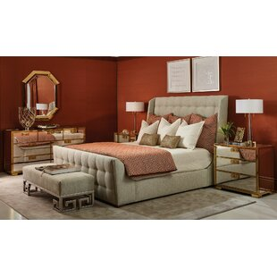 Soho Luxe Sleigh Configurable Bedroom Set by Bernhardt