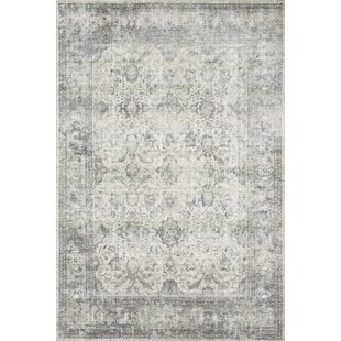 Order Breed Handwoven Gray/Off-White Area Rug By Williston Forge