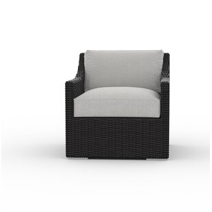 Bungalow Rose Boothby Patio Chair with Cu..