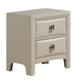 Best Reviews Schuyler 2 Drawer Nightstand by Mercer41