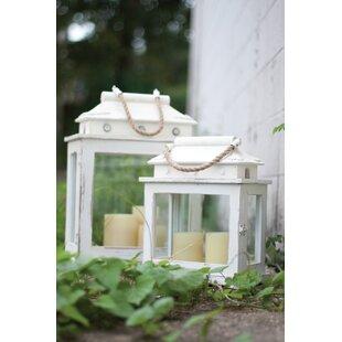 Buy clear Seton Lanterns (Set of 2) By Birch Lane™