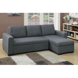 Poundex Bobkona Jassi Sleeper Sectional