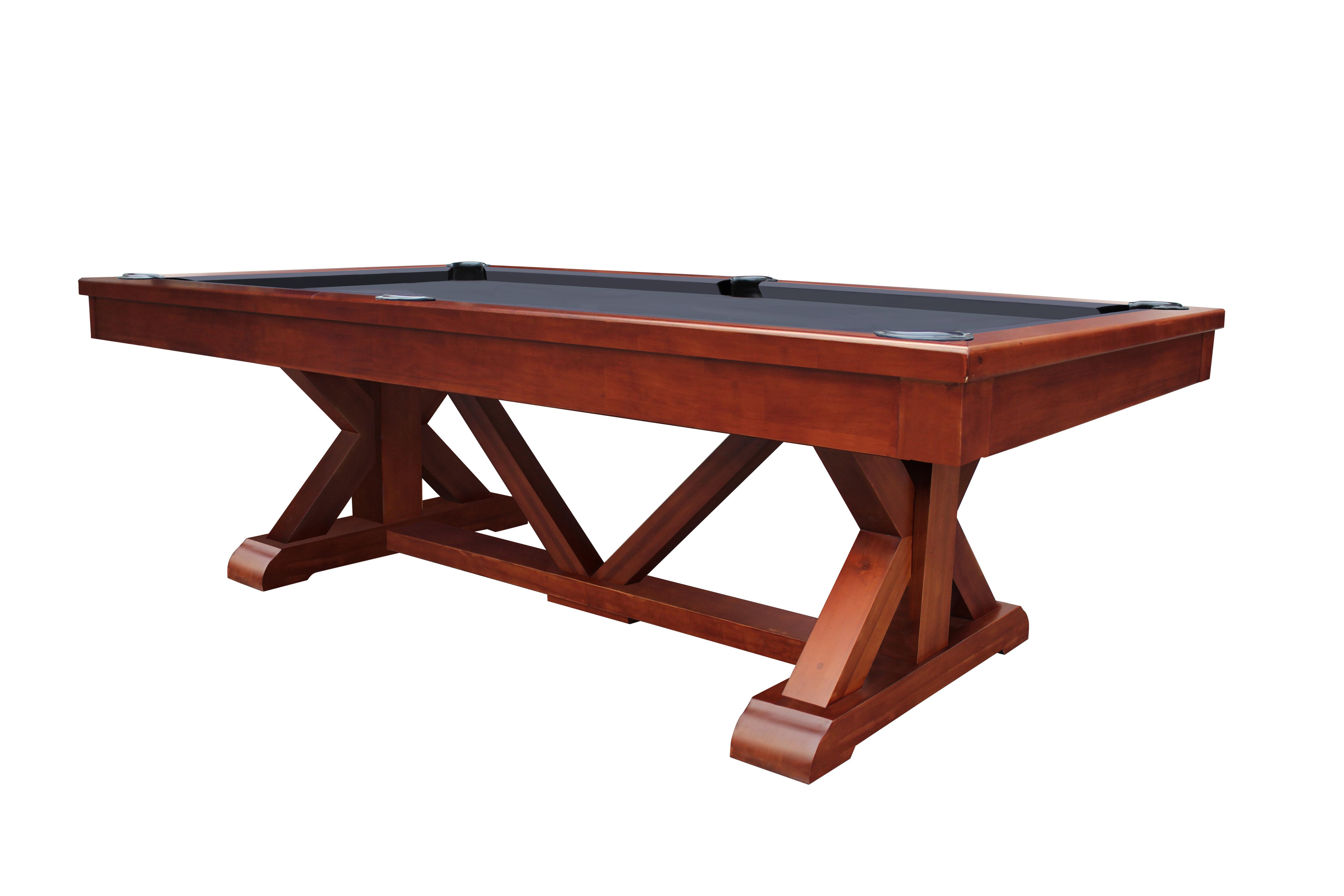 Playcraft Brazos River Pool Table Reviews Wayfair - 84 pool table