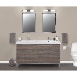 Empire Industries Daytona Double Sink Bathroom Vanity Set