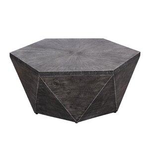 Williston Forge Morwenna Stone/Concrete Coffee Table