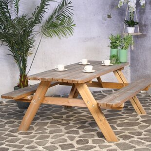 Essexville Folding Wooden Picnic Table Image