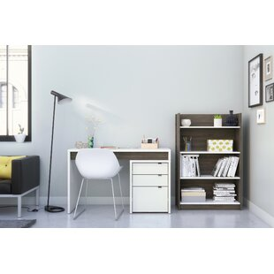 Latitude Run Alayna 3 Piece Desk Office Suite