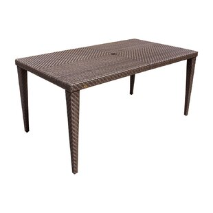 Ferrero Wicker/Rattan Dining Table by And..