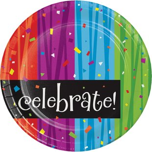 Milestone Celebrations Paper Plate (Set of 24)