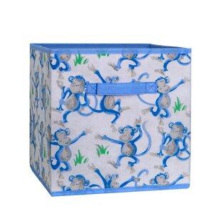 Cheeky Monkey Fabric Cube or Bin by Laura Ashley