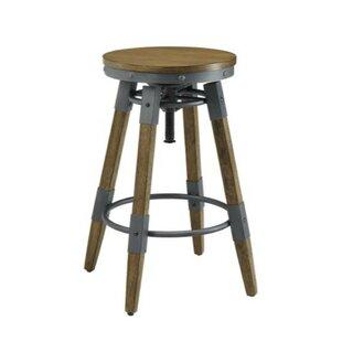 17 Stories Ehlers Wooden Adjustable Heigh..